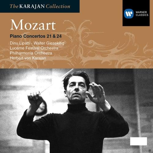 Mozart: Piano Concerto Nos 21 & 24 by Philharmonia Orchestra