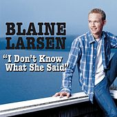 I Don't Know What She Said by Blaine Larsen