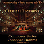 Classical Treasures Composer Series: Johannes Brahms, Vol. 4 by Various Artists