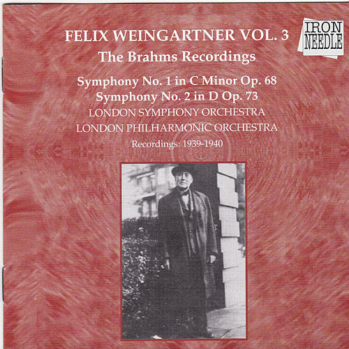 The Brahms Recordings, Vol. 3 by Various Artists