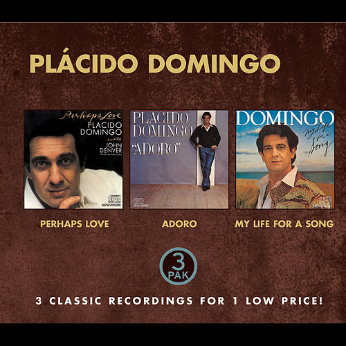 Plácido Domingo - Costco (nice Price) - Perhaps Love, Adoro, My Life For A Song by Placido Domingo