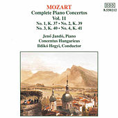 Complete Piano Concertos Vol. 11 by Wolfgang Amadeus Mozart