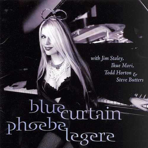 Blue Curtain by Phoebe Legere