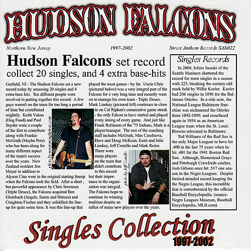 Singles Collectoin 1997-2002 by Hudson Falcons