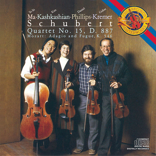 Mozart: Adagio and Fugue in C Minor; Schubert: String Quartet No.15 by Various Artists