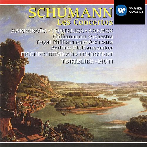 Schumann: Concertos by Philharmonia Orchestra