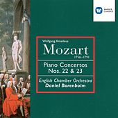 Mozart: Piano Concertos Nos 22 & 23 by English Chamber Orchestra