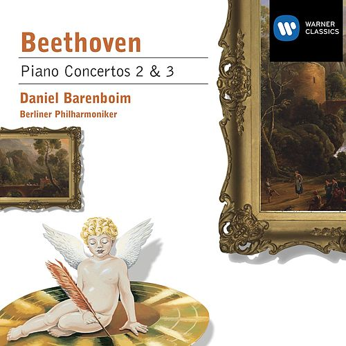 Beethoven: Piano Concertos 2 & 3 by Berliner Philharmoniker