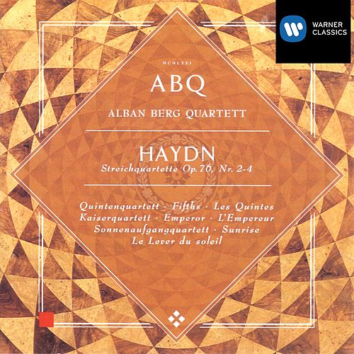 String Quartets, Op.76 No'S 2-4 by Alban Berg Quartet