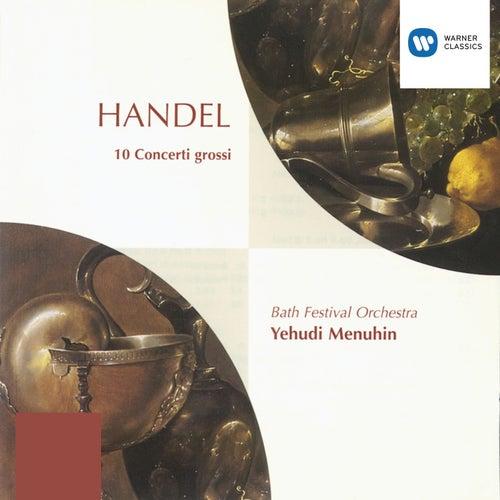 Handel: Concerti Grossi  Op. 6 Nos. 1-10 by Yehudi Menuhin
