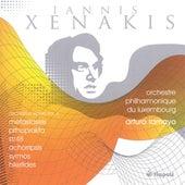 Xenakis, I.: Orchestral Works, Vol. 5 - Metastaseis / Pithoprakta / St/48 / Achorripsis / Syrmos / Hiketides Suite by Luxembourg Philharmonic Orchestra