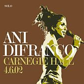 Carnegie Hall 4.6.02 by Ani DiFranco