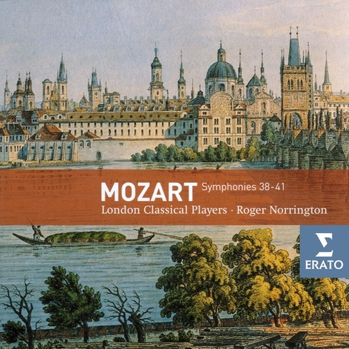 Mozart - Symphonies Nos. 38-41 by Roger Norrington