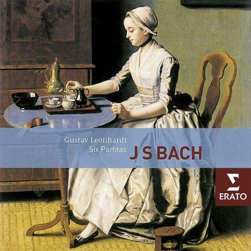 Bach: 6 Partitas BWV 825-830 by Gustav Leonhardt