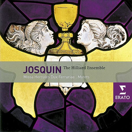 Josquin Desprez: Motets and Chansons/Hilliard Ensemble von Paul Hillier