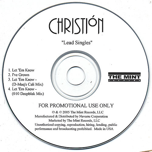 Let  'em Know / I've Grown by Christión