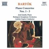 Piano Concertos Nos. 1 - 3 by Bela Bartok