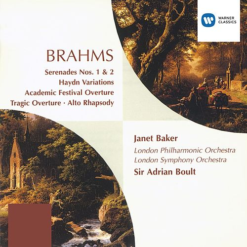 Brahms Orchestral Works by Johannes Brahms