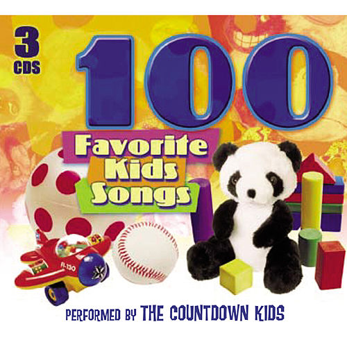 100 Favorite Kids Songs von The Countdown Kids