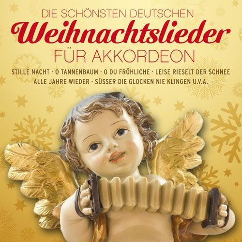 Die schönsten deutschen Weihnachtslieder für Akkordeon by Weihnachtslieder