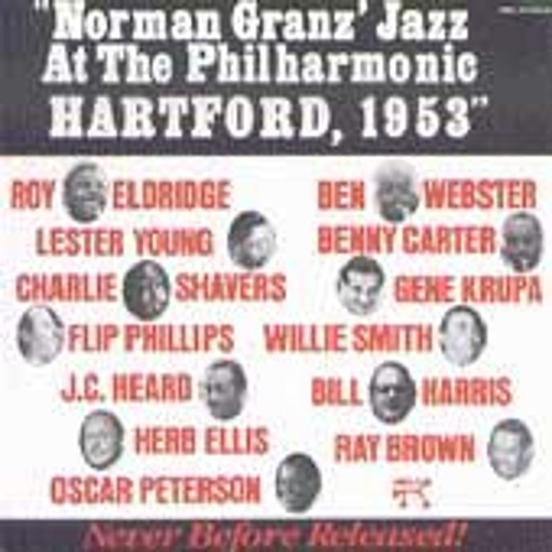 Jazz At The Philharmonic: Hartford, 1953 by Oscar Peterson