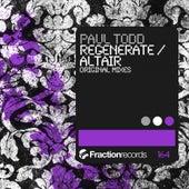 Regenerate / Altair - Single by Paul Todd