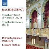 Rachmaninov: Symphony No. 3 - Symphonic Dances by Detroit Symphony Orchestra