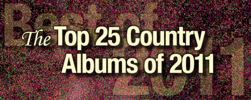 The Top 25 Country Albums of 2011
