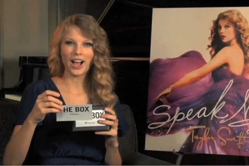 Taylor Swift Vs The Box (interview)