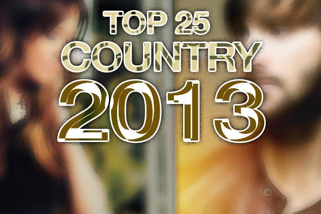 Top 25 Country Albums of 2013