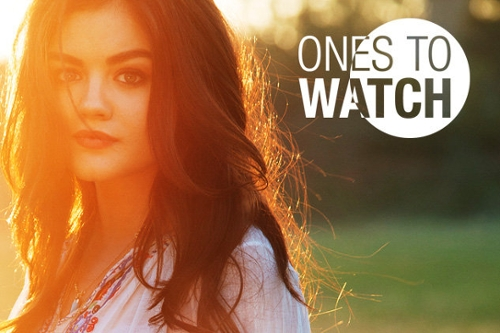 Ones to Watch: Lucy Hale Q&A