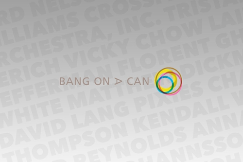 Bang on a Can Marathon 2015