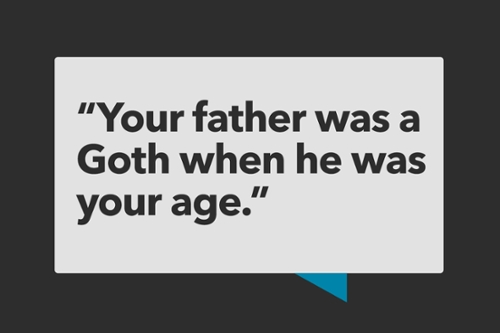How to Talk to Your Kids About Goth Rock