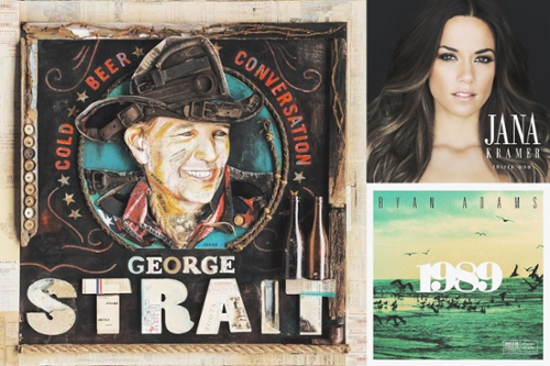 Top 10 Country Albums, Fall 2015
