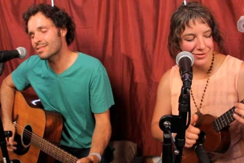 Stripped Down In A Yurt: Blind Pilot,