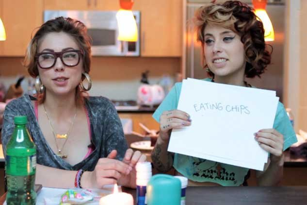 Bandmating: Kreayshawn and L1L' D3BB13 (video)