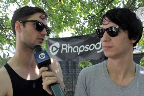 The Naked And Famous Talk Wearing Pants, Soggy Boots at Lollapalooza (Video Interview)