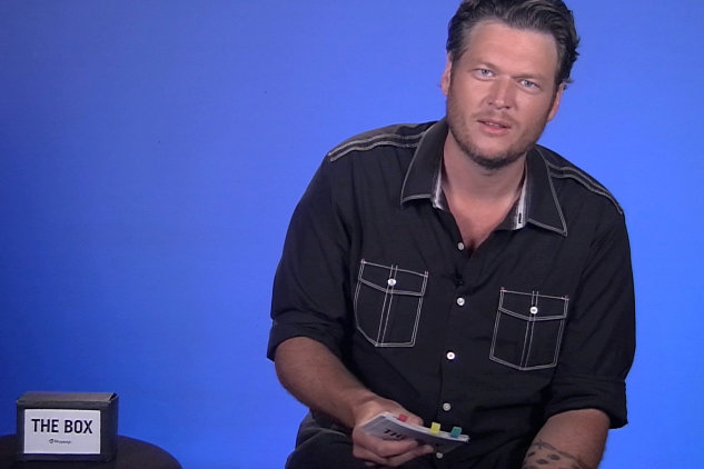 Blake Shelton vs. The Box (interview)