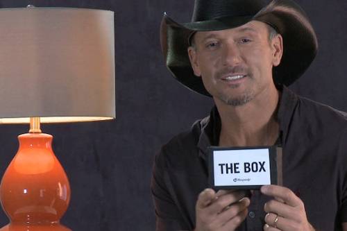 Tim McGraw Vs The Box
